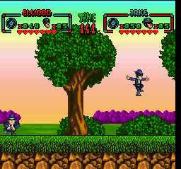 Blues Brothers, The (Japan) In game screenshot