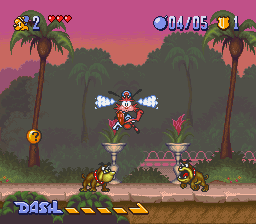 Bonkers - Hollywood Daisakusen! (Japan) In game screenshot
