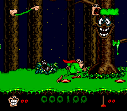 Boogerman - A Pick and Flick Adventure (Europe) In game screenshot