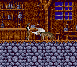 Bram Stoker's Dracula (Europe) In game screenshot