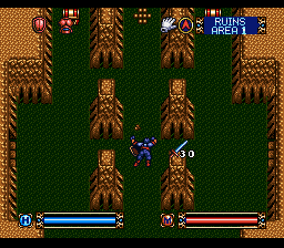 Brandish (USA) In game screenshot