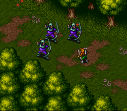 Breath of Fire (USA) In game screenshot