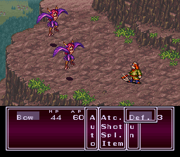 Breath of Fire II (Europe) In game screenshot