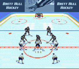 Brett Hull Hockey (USA) In game screenshot