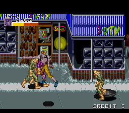 Captain Commando (USA) In game screenshot