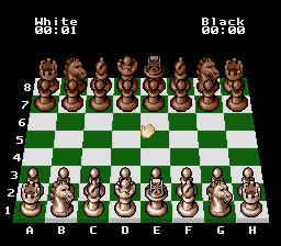 Chessmaster, The (Japan) In game screenshot