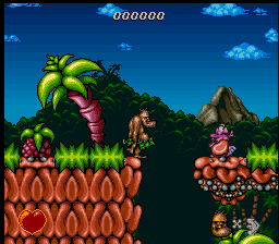 Chuck Rock (Europe) In game screenshot
