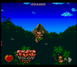 Chuck Rock (USA) (Beta) In game screenshot