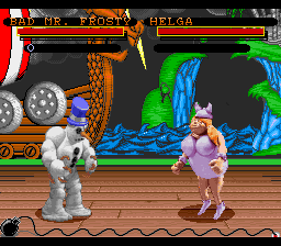 Clay Fighter (Europe) In game screenshot