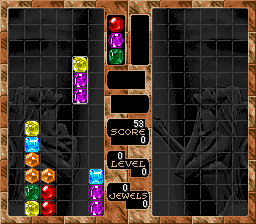 Columns (Japan) (NP) In game screenshot