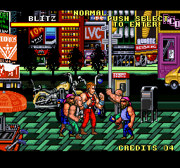 Combatribes, The (Japan) In game screenshot