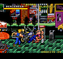 Combatribes, The (USA) In game screenshot