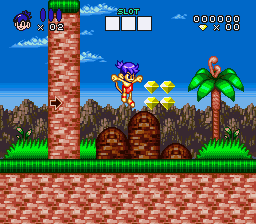 Congo's Caper (Europe) In game screenshot
