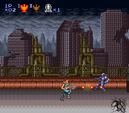 Contra Spirits (Japan) In game screenshot
