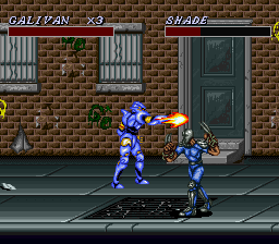 Cosmo Police Galivan II - Arrow of Justice (Japan) In game screenshot