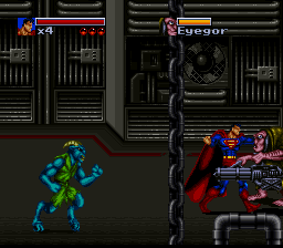 Death and Return of Superman, The (USA) In game screenshot