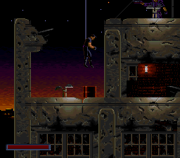 Demolition Man (USA) In game screenshot