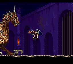 Demon's Crest (Europe) In game screenshot