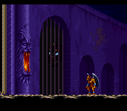Demon's Crest (USA) In game screenshot