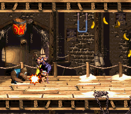 Donkey Kong Country 3 - Dixie Kong's Double Trouble! (Europe) (En,Fr,De) In game screenshot