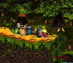 Donkey Kong Country 3 - Dixie Kong's Double Trouble! (USA) (En,Fr) In game screenshot
