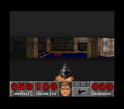 Doom (Europe) In game screenshot