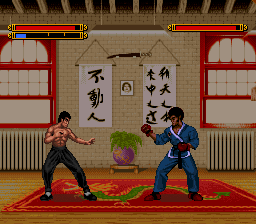 Dragon - The Bruce Lee Story (Europe) In game screenshot