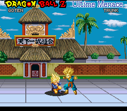 Dragon Ball Z - Ultime Menace (France) In game screenshot