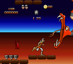 Dragon's Lair (Europe) (En,Fr,De,Es,It,Nl,Sv) In game screenshot