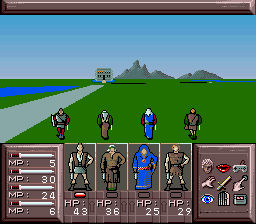 Drakkhen (Germany) In game screenshot
