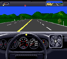 Duel, The - Test Drive II (USA) In game screenshot