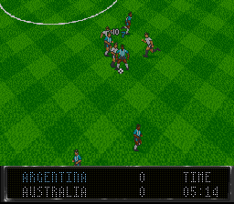 Elite Soccer (USA) In game screenshot