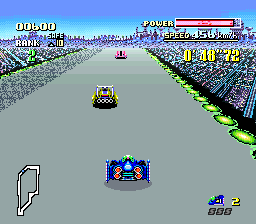 F-Zero (Europe) In game screenshot