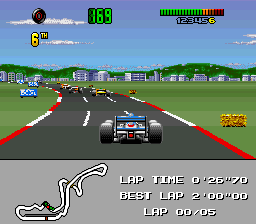 F1 World Championship Edition (Europe) In game screenshot