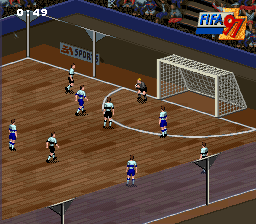 FIFA '97 - Gold Edition (USA) (En,Fr,De,Es,It,Sv) In game screenshot