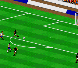 FIFA International Soccer (Europe) In game screenshot