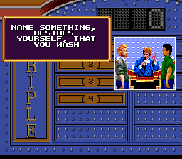 Family Feud (USA) In game screenshot