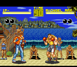 Fatal Fury (USA) In game screenshot