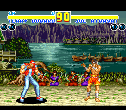 Fatal Fury 2 (Europe) In game screenshot