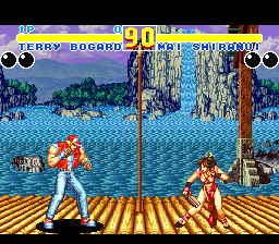 Fatal Fury 2 (USA) In game screenshot