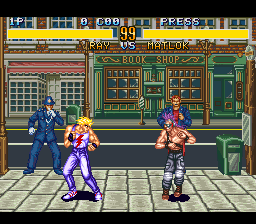 Fighter's History (USA) (Beta) In game screenshot