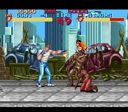 Final Fight (Japan) In game screenshot