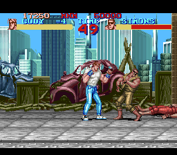 Final Fight (USA) In game screenshot