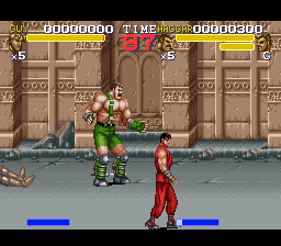 Final Fight 3 (Europe) In game screenshot