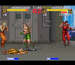 Final Fight 3 (USA) (Beta) In game screenshot