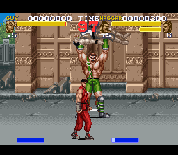 Final Fight 3 (USA) In game screenshot