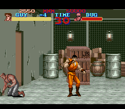 Final Fight Guy (Japan) In game screenshot