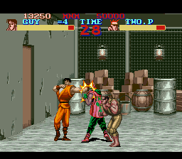 Final Fight Guy (USA) In game screenshot