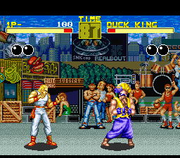 Garou Densetsu - Shukumei no Tatakai (Japan) In game screenshot