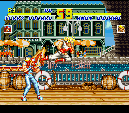 Garou Densetsu Special (Japan) In game screenshot